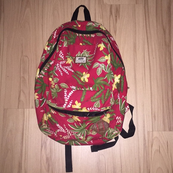 vans tropical backpack